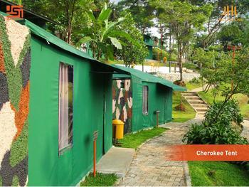 JSI Resort Puncak - Cherokee Tent Regular Plan