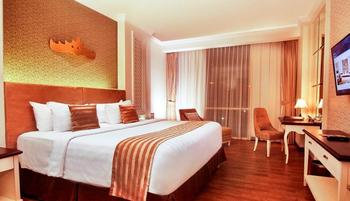 Swiss-Belhotel Lampung Bandar Lampung - Deluxe King Pool View Stay for 2 Nights or more, Get 12% OFF