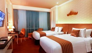 Swiss-Belhotel Lampung Bandar Lampung - Deluxe Twin Sea View Stay for 2 Nights or more, Get 12% OFF