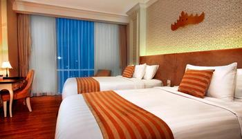 Swiss-Belhotel Lampung Bandar Lampung - Deluxe Twin Garden View Stay for 2 Nights or more, Get 12% OFF