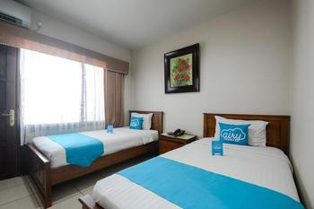 Airy Gubeng Sumatra 89 Surabaya - Standard Twin Room with Breakfast Special Promo Aug 33