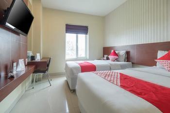 OYO 474 Tirai Bambu Jimbaran Bali - Deluxe Twin Room Regular Plan
