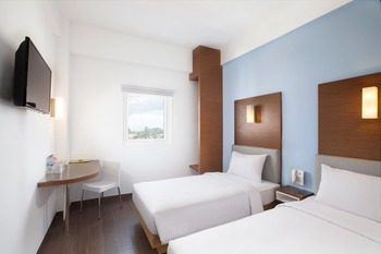 Amaris Hotel Palembang - Smart Room Twin Offer 2020 Last Minute Deal