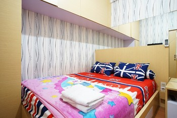 Kamarku Apartment Bandung - Family Room Room Only FC Min Stay 2N 40%