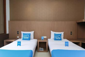 Airy Riau Progo 6 Bandung - Ellegence Twin Room Only Regular Plan