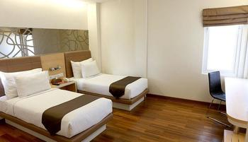 Citihub Hotel at Arjuna Surabaya - Deluxe Twin  Regular Plan