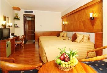 Hotel Mutiara Merdeka Pekanbaru - Deluxe Twin Room Regular Plan