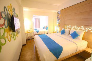 Baliez Hotel Seminyak Seminyak - Suite Family Room Only Regular Plan