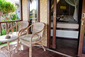 Brothers Bungalow Bali - Teras
