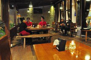 Grand Jimbaran Boutique Hotel & Spa Bali - Restoran