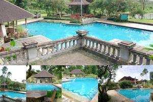 Villa Chava Minerva Kayu Ciater - Kolam Renang