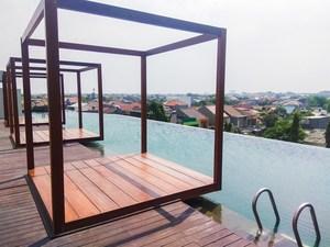 Elegant & Homey Studio @ Grand Kamala Lagoon By Travelio