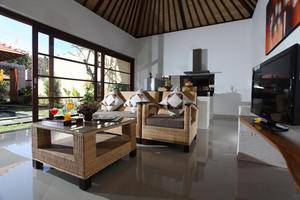Bayad Ubud Bali Villa Bali - Ruang Tamu