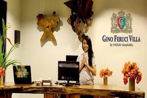 Gino Feruci Lovina - Resepsionis