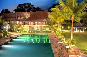 Amanuba Hotel & Resort Rancamaya Bogor - View from restaurant