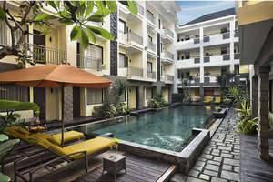 The Sunset Hotel Bali - Kolam Renang