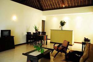 Medewi Bay Retreat Bali - Villa 3 kamar, ruang tamu