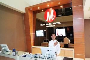 Kuta Majesty Hotel Bali - Resepsionis