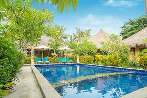Mushroom Garden Villas Bali - Kolam Renang