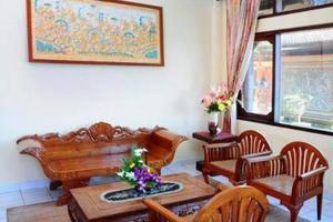 The Rishi Candidasa Beach Hotel Bali - Ruang tamu