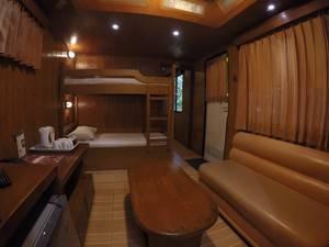 Taman Safari Lodge Cisarua - Livving Room