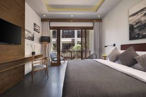 Akana Boutique Hotel Sanur Bali - Deluxe Pemandangan Kolam
