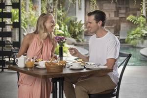 Akana Boutique Hotel Sanur Bali - Selada restoran - sarapan dan Makan Siang