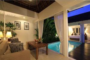 Astana Kunti Villa Bali - Ruang tamu