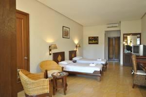 Mutiara Carita Cottages Pandeglang - Tempat tidur Twin