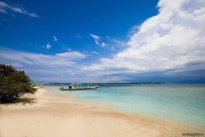 Black Penny Villas Trawangan Lombok - Pemandangan