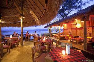 Black Penny Villas Trawangan Lombok - Eksterior