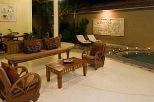 Putri Bali Villa Bali - Ruang Tamu