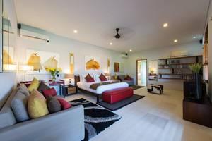 Villa Kinaree Estate Seminyak - Villa A - Ruang Tidur Utama