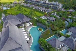 Visesa Ubud Resort Bali - Pemandangan hotel dari atas