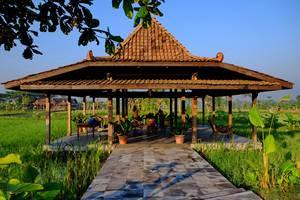 Puri Menoreh Hotel Magelang - Pemandangan pendopo