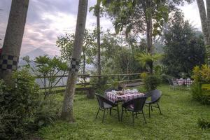 Rumah Boedi Private Residence Borobudur Magelang - Garden view2
