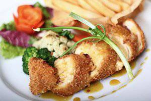 G'Sign Style Kuta Bali Bali - Chicken Cordon Blue