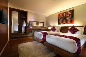 Pandawa All Suite Hotel Bali - Tempat tidur Twin
