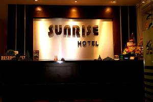 Sunrise Hotel Jombor Yogyakarta - Ruang resepsionis