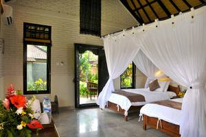 Hidden Paradise Cottages Bali - Tempat Tidur Twin