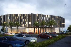 Sparks Convention Lampung - Hotel Facade