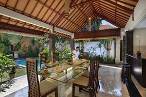 Dampati Villas Bali - Ruang tamu