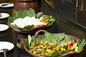 The Mirah Hotel Bogor - Breakfast Buffet Traditional Food