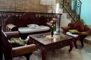 Ellies Hotel Bali - Ruang tamu