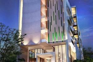 Sparks Lite Hotel Manado - Pintu masuk hotel