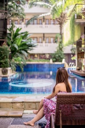 Permata Kuta Hotel Bali - Pool