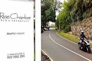 Rose Chamber Bed And Breakfast Bandung - Eksterior