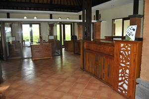Bagus Arga Pelaga Bali - Bagian Penerima Tamu dan meja kasir Counter