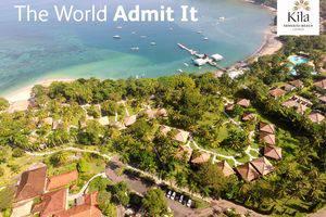 Kila Senggigi Beach Hotel Lombok - Panorama dari atas