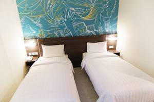 Meize Hotel Bandung - Superior Twin
